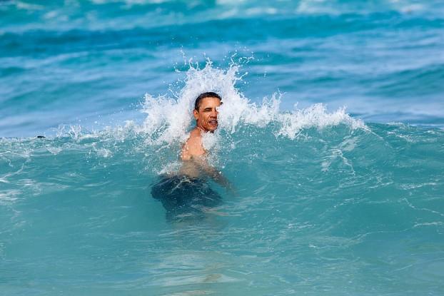obama_schwimmt