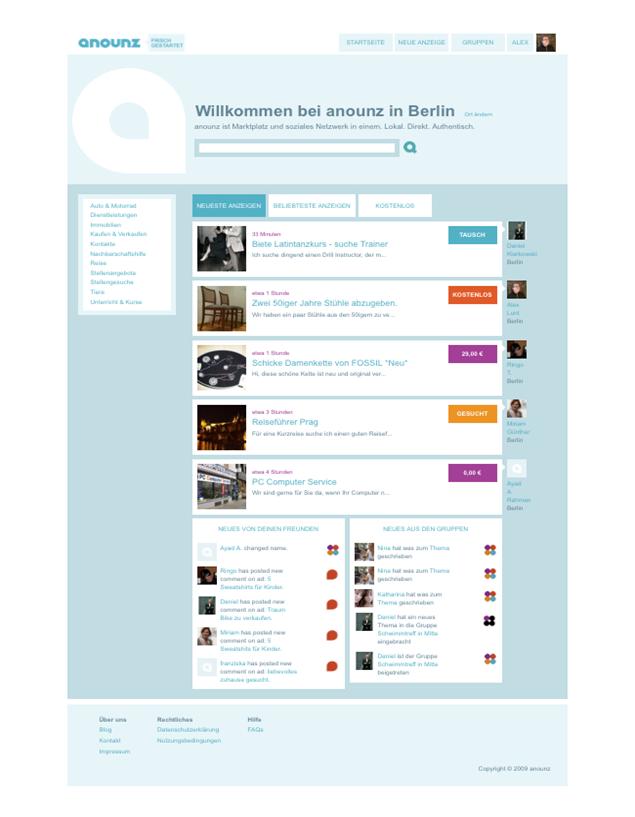 ANOUNZ-StartPage