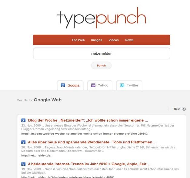 TypePunch